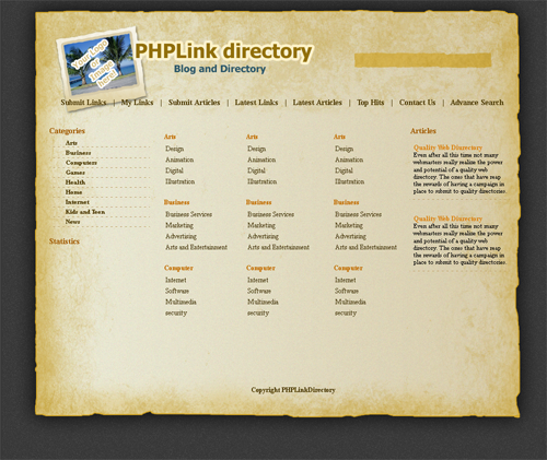 PaperTrail Directory Theme