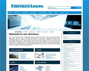 Corporate Linking phpLD Template
