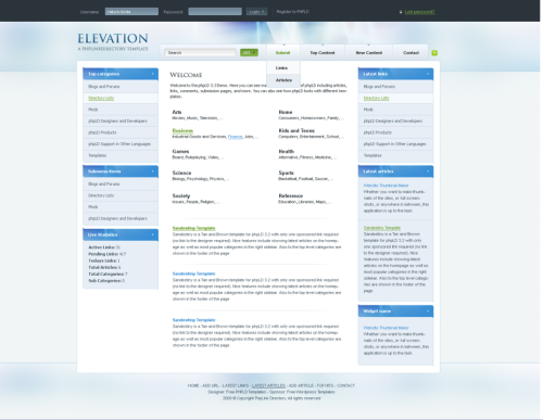 elevation template